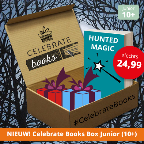 Junior Box januari 2017 Celebrate Books Hunted Magic