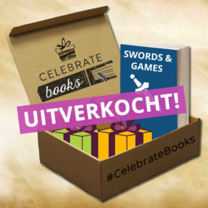 Celebrate Books box Swords & Games uitverkocht