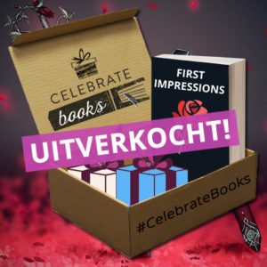 First Impressions boekbox maart Celebrate Books uitverkocht