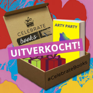 Celebrate Books box Arty Party uitverkocht