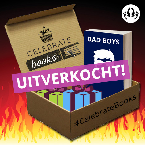 Bad Boys boekbox Celebrate Books uitverkocht