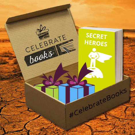Celebrate Books boek box juli Secret Heroesi