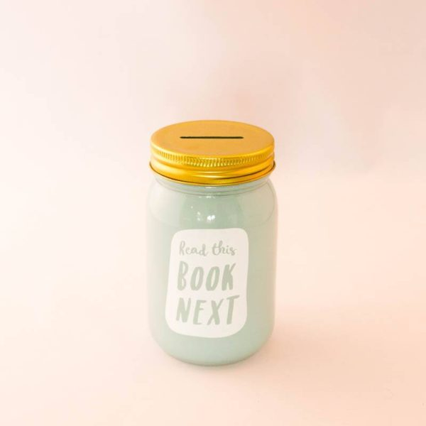 book-jar-read-this-book-next-mintgroen-goudkleurig